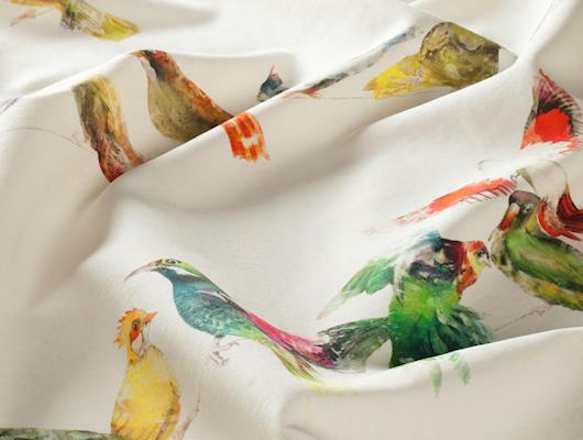 gordijn- en meubelstoffen jab birdsong