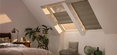 Velux raamdecoratie