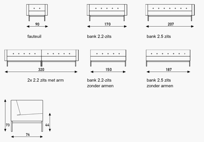 specificaties Artifort 070