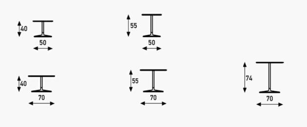 Artifort Circle tafel en bijzettafel specificaties