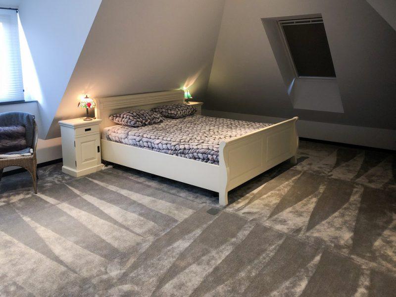 de projecten van eurohome en P&M new design, een villa in Maassluis, slaapkamer