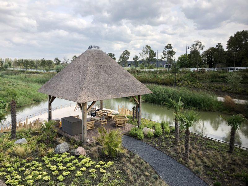 de projecten van eurohome en P&M new design, een villa in Maassluis